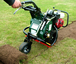 grass removal machine hire
